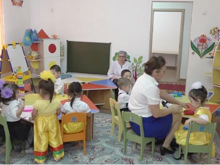 Новый детский сад открыли в посёлке близ Уральска