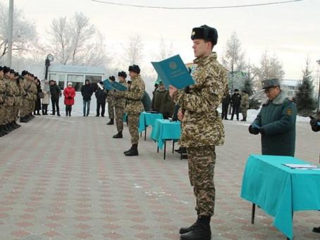 Петропавлдағы әскери-техникалық мектепті 260 түлек бітіріп шықты