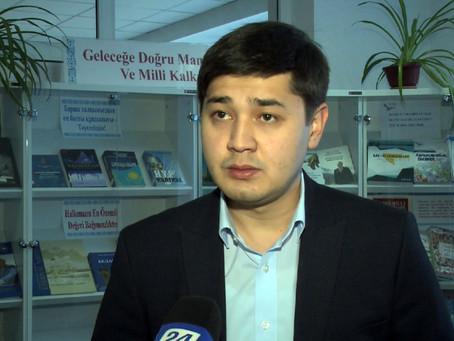 Студент из Туркестана с необычным бизнес-планом выиграл государственный грант