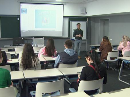 Журналисты «Хабара» проводят мастер-классы для студентов
