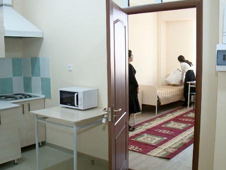Новое общежитие для студентов построили в Шымкенте