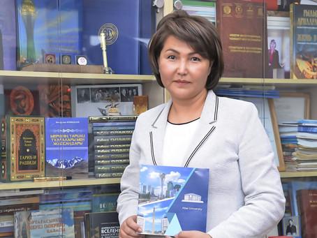 Ақтолқын Құлсариева: Ғылыми жұмыстар жоғары деңгейде жүргізілуде