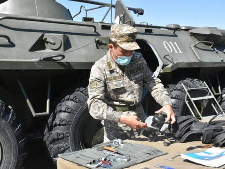 Представители Кыргызстана и Таджикистана получат дипломы военного вуза в Алматы