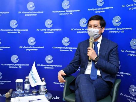 Асхат Аймагамбетов: Программа «Болашақ» подверглась серьезной трансформации и стала прозрачнее