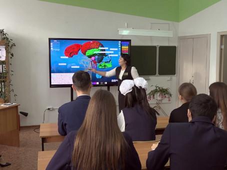 Необычные виртуальные кабинеты появились в школах Уральска