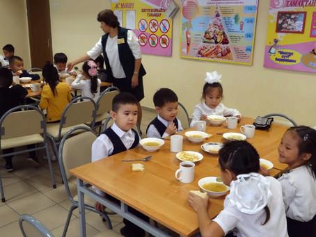 Проект по автоматизации школьного питания внедряют в Уральске