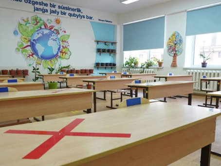Более 40 тысяч школьников посещали дежурные классы в Нур-Султане