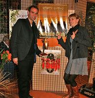 Mathieu Susstrunk et Katja Gotz, cigale d'or du 8ème Ciné Festival en Pays de Fayence avec le film Suicide Club