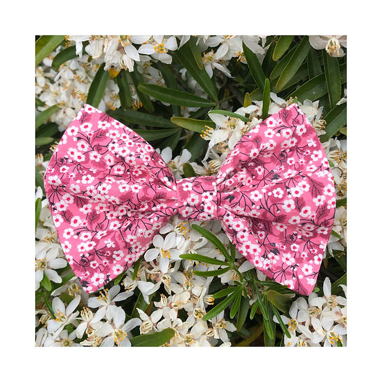 Noeud Papillon Liberty Rose / Taille L