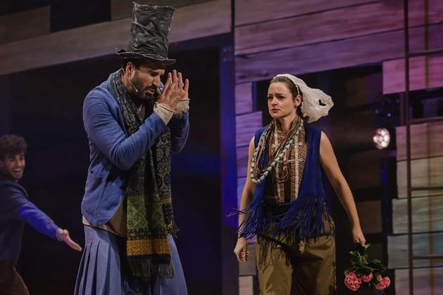 Allende Blanco en 33 el musical
