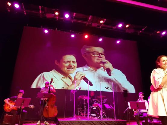 Allende Blanco con Iñaki Uranga