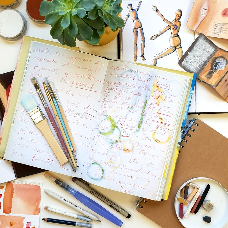 Journaling for the Creative Soul - a weekly course @ Sunset Gallery