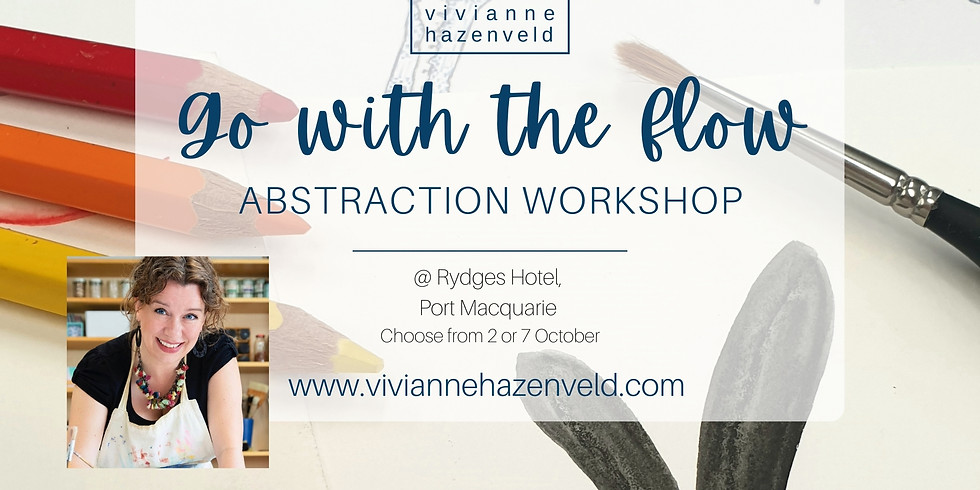 WEDNESDAY Go With The Flow Abstraction Workshop - Creating Contemporary Abstract Art (1)