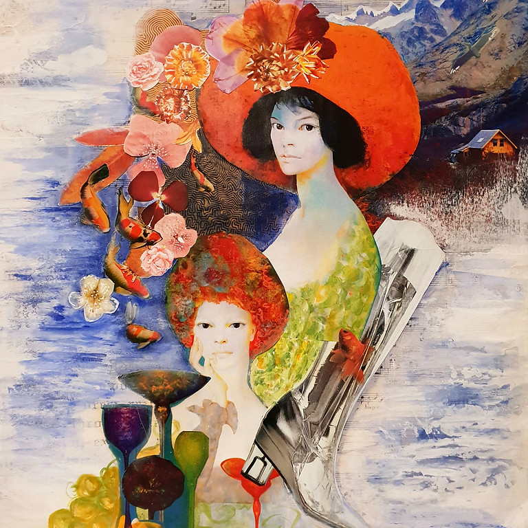 REGISTER: Contemporary Collage - a weekly course