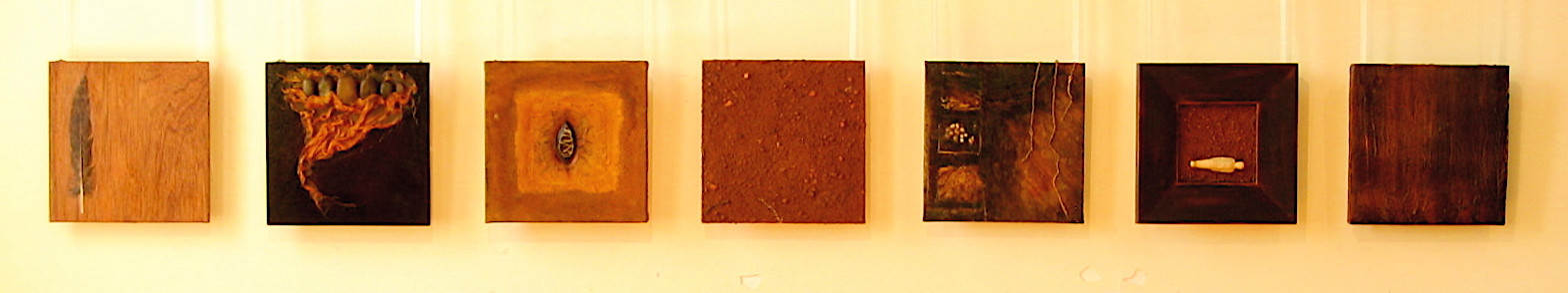 Earth - Mixed media Panels 2