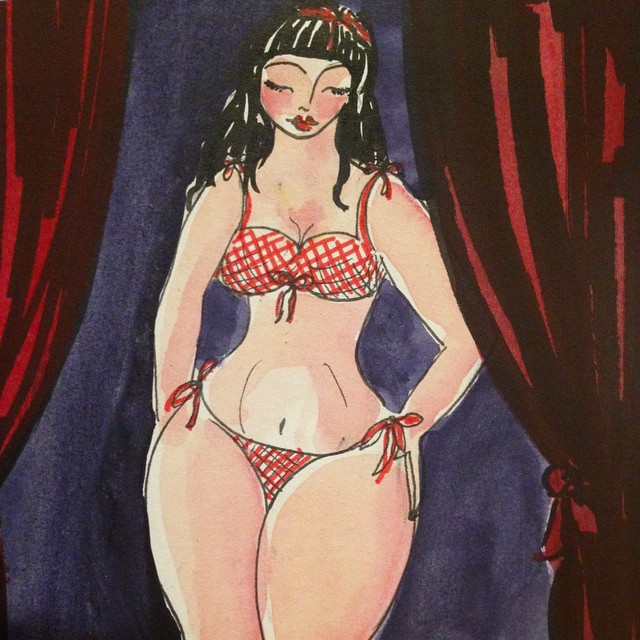 Burlesque Dancer