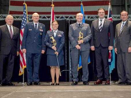 National Museum of the USAF hosts RAFMAF 2020 Swords of Honor Presentation