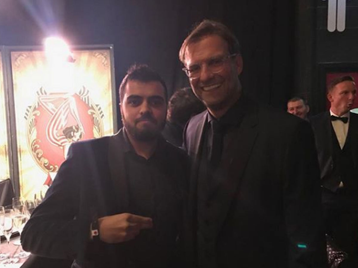 Zamaan Ismail and Jurgen Klopp