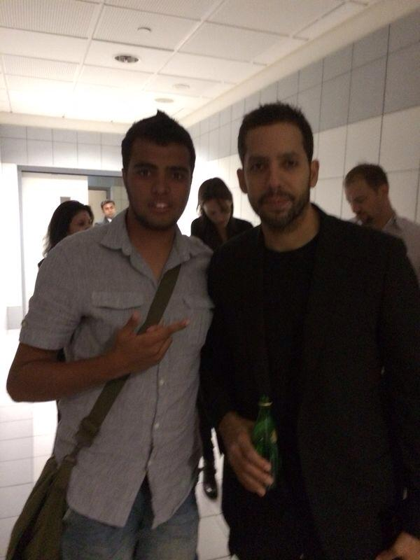 Me and David Blaine