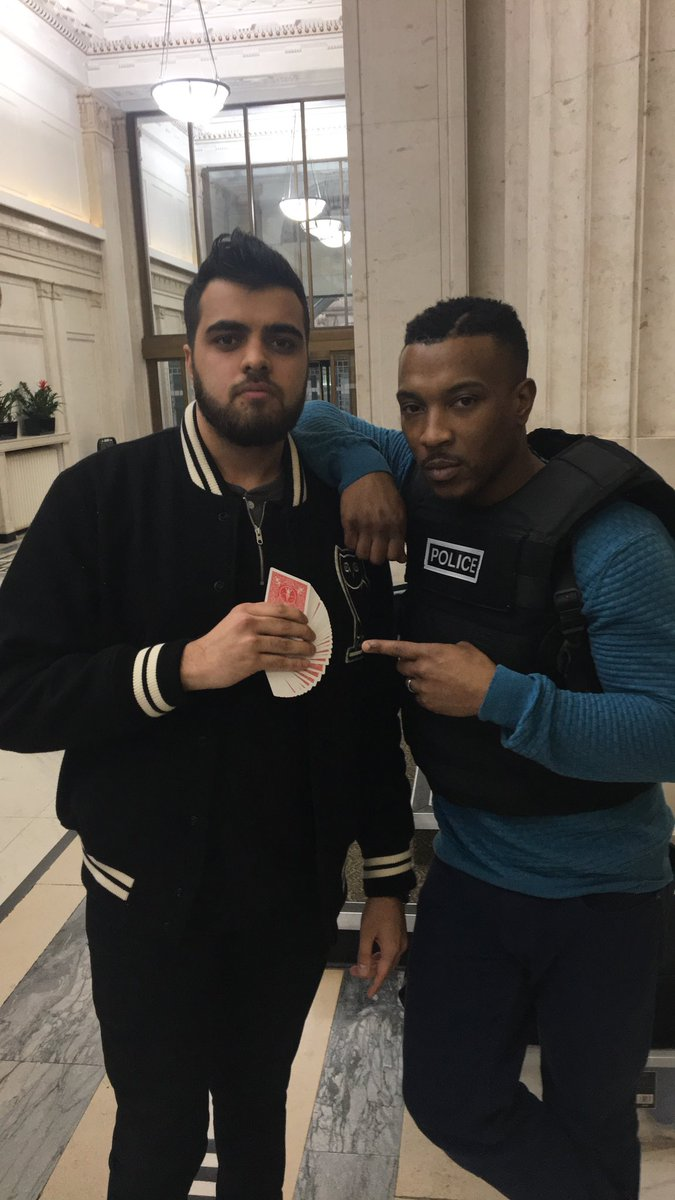 with Ashley Walters
