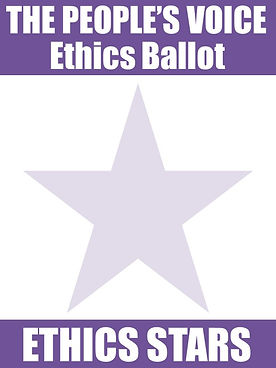 Blank Ethics Ballot