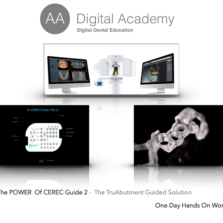 The Power Of CEREC Guide 2 - The TruAbutment Guided Solution