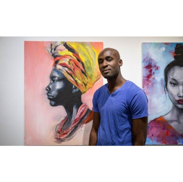 """Jibola Fagbamiye: Art, Business, and  The """"African"""" Canadian Experience"""