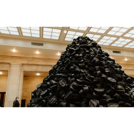 The New Black Art Installation At Union Station That You Have To See
