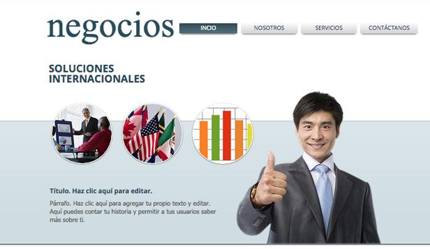 1290a60285263 Negocios plantillas web – Administración de negocios