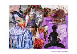 Wild Feminine Collage