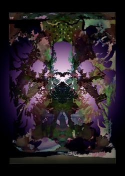 Midnight Jungle Kaleidescope