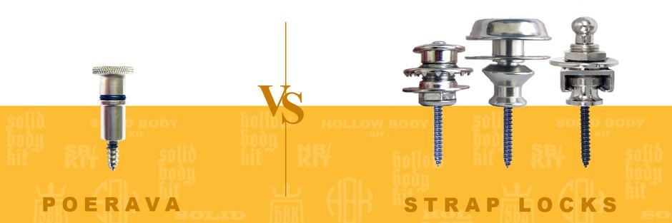 Poerava Removable Strap Buttons   -vs- Strap Locks
