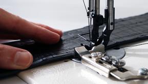 machine sewn