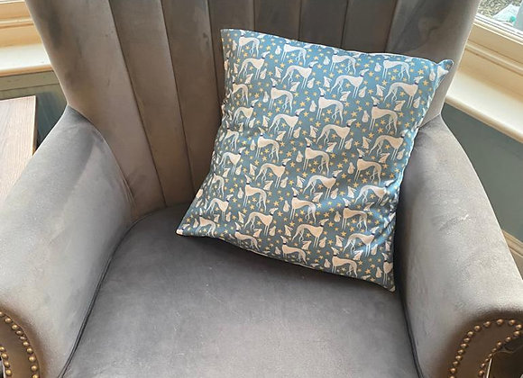 Hounds & Hares Cushion Cover