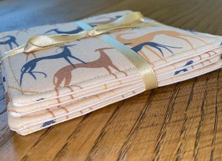 Sighthounds (Sand) Coasters
