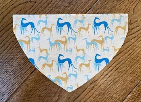 Sighthounds (Blue & Yellow) Bandana