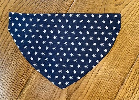 Navy Stars Bandana