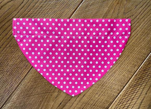 Pink Spots Bandana
