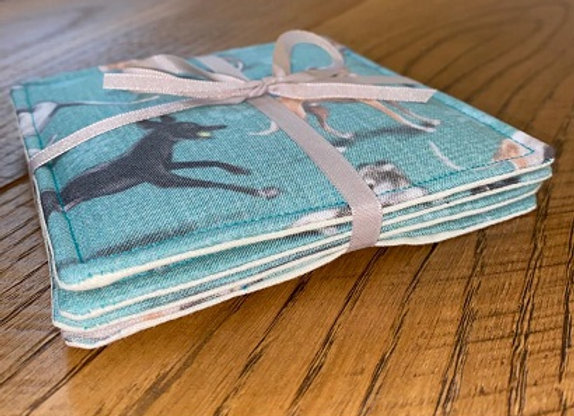 Handsome Hounds Coasters
