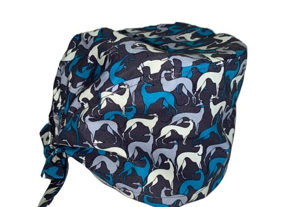 Sighthounds Scrub Cap (Charcoal)