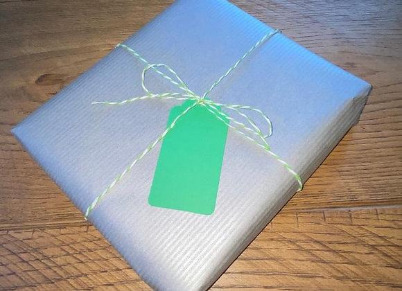 Silver Wrap & Paper String