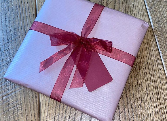 Rose Gold Wrap & Ribbon