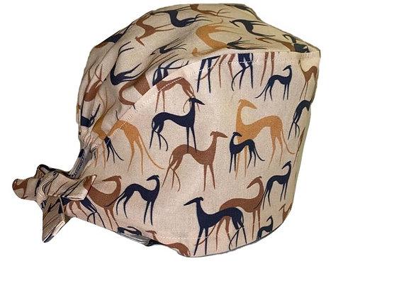 nurses scrub hat whippet