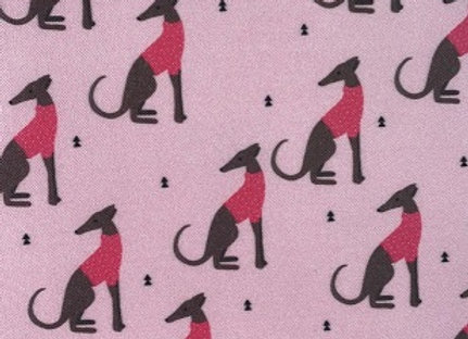 Sighthound (Pink) Cushion COVER