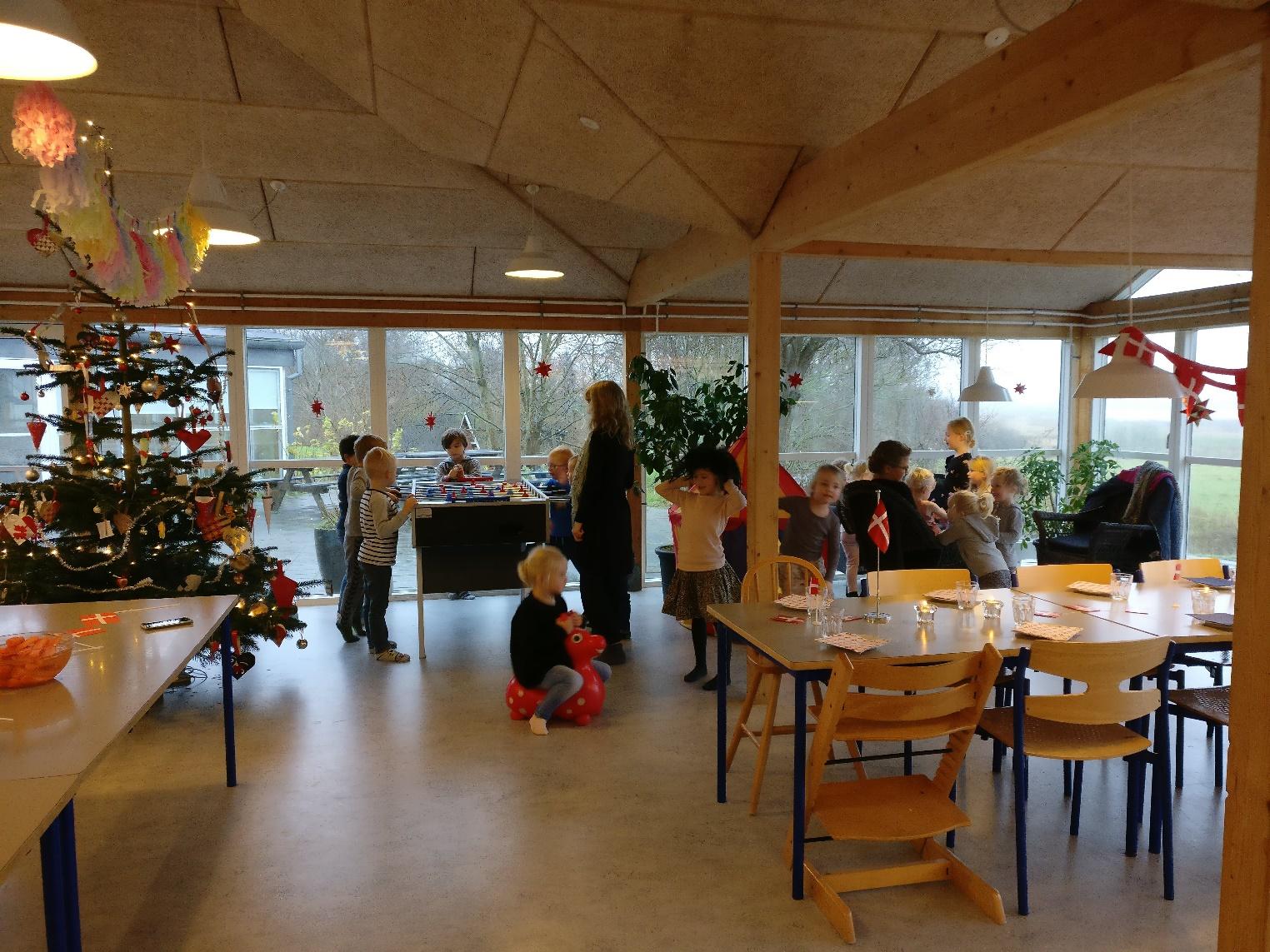 Juletræ i fælleshuset