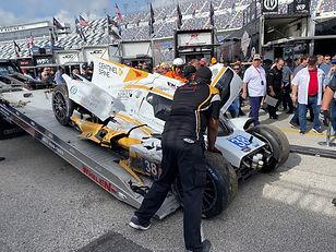 Rolex 24: Kobayashi fastest as LMP2 crash ends final practice