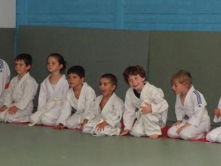 Remises de ceintures au Judo Club Montilien