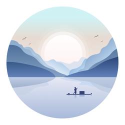 Boating alone