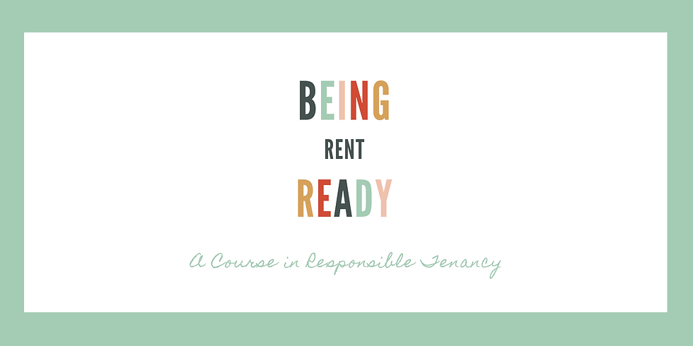 Being Rent Ready