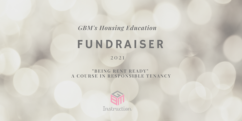 Housing Education  Fundraiser & Mixer